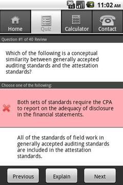 Gleim CPA Diagnostic Quiz