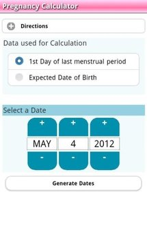 Pregnancy Calculator (ENv7D)