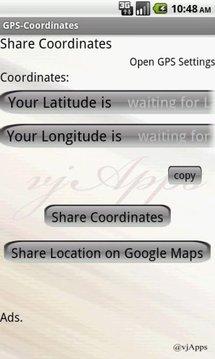 GPS Coordinates GPS Location