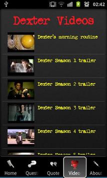 Dexter Trivia