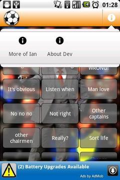 Ian Holloway Soundboard
