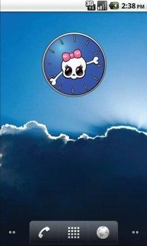 Girly Skull Clocks - FREE