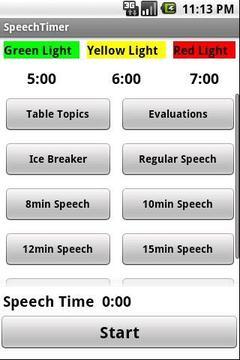 Speech Timer