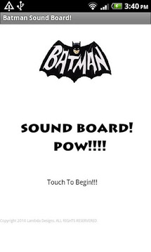 Batman 1960s Sound Board(FREE)