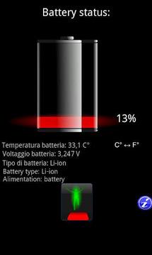 Battery status + Widget