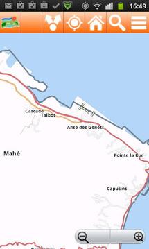 塞舌尔离线张地图