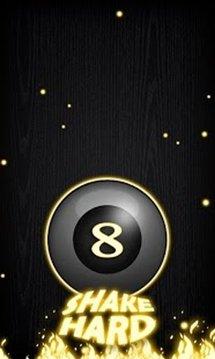 Magic 8 Ball Fire