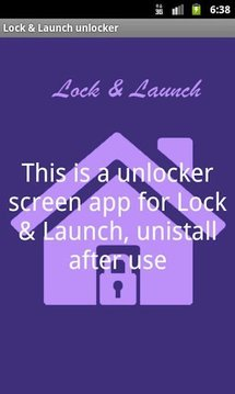 Lock & Launch unlock