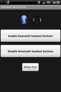 Headset Button Fix
