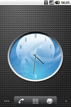 ALIEN watch 4x3 Analog Clock
