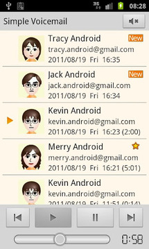 简单语音邮件 Simple Voicemail Free v1.00.0