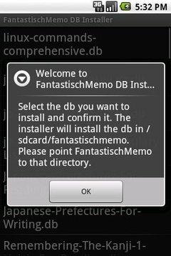 AnyMemo DB Installer