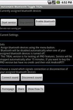 AutomaticBluetoothToggle TRIAL