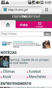 TMN Internet no Telemóvel