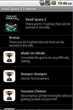 Dead Space 2 Trophies