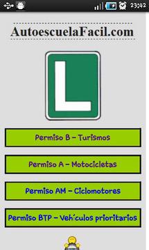Autoescuela Facil test GRATIS