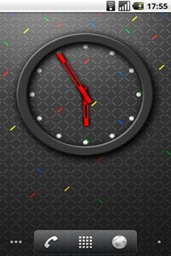 RIM 4x3 Analog Clock
