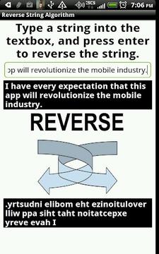 Reverse String Algorithm