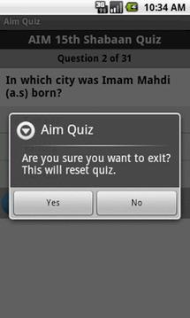 Aim Quiz
