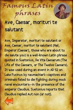 Frasi Latine Celebri