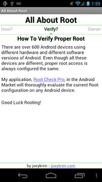 All About Root