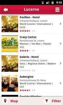 MyTable Restaurant Guide