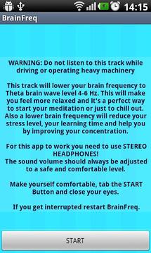 BrainFraq - Theta Level
