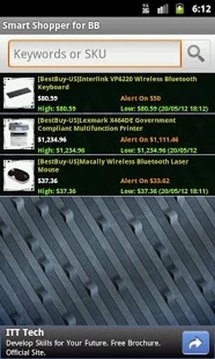 Smart Shopper for BestBuy