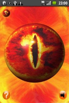 3D Eye of Sauron - LOTR