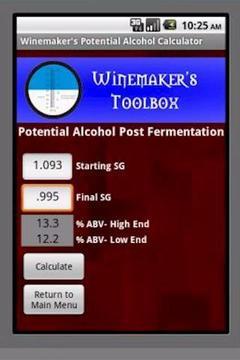 Winemaker's PA Calculator