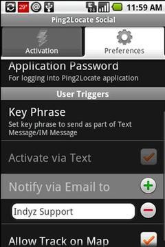 Ping2Locate Social