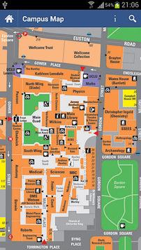 伦敦大学学院校园地图 UCL Map+