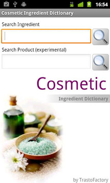 Cosmetic Ingredient Dictionary