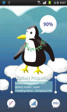 ForPenguin-Battery indicator
