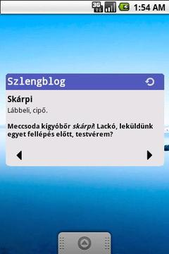 Szlengblog widget