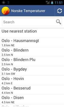 Norske temperaturer