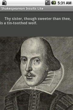 Shakespearean Insults Lite
