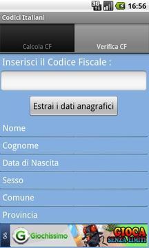 Codici Italiani beta