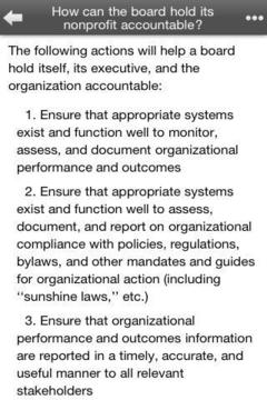 Nonprofit Manager's FAQ