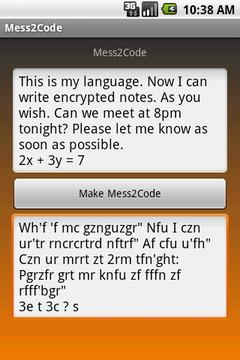 Mess2Code