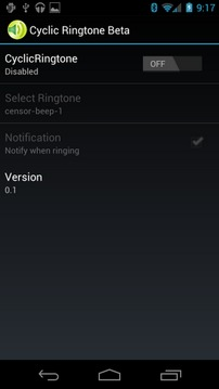 Cyclic Ringtone Beta