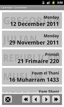 Calendar Converter Free