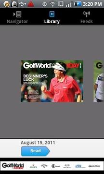 GolfWorldMonday