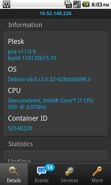 Plesk服务器主机管理器
