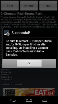 G-Stomper Real-Drums Pack
