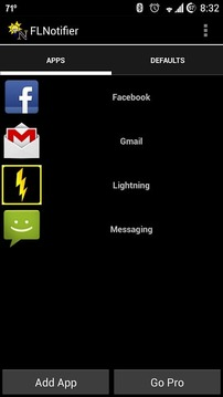 Flashlight Notifier