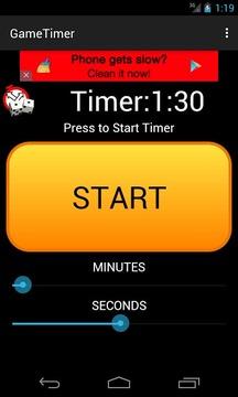Game Timer