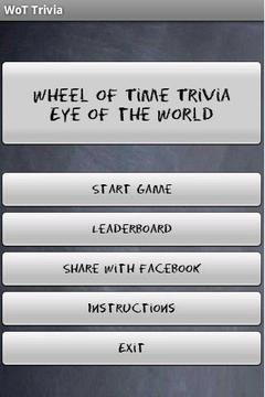 Wheel of Time Trivia