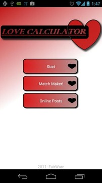 Social Love Calculator