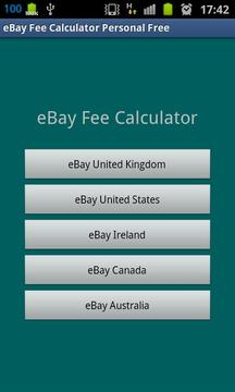 eBay Fee Calculator Personal